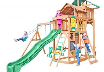 Auburn Hills Wooden Swing Set